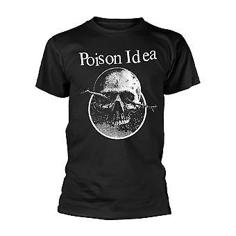 Poison Idea Skull Logo Officiële T-Shirt Unisex