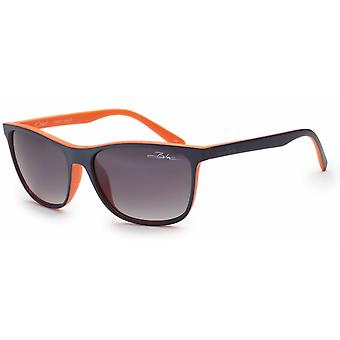 Bloc Eyewear Coast Blue Orange Sunglasses (Grey Graduated Wayfarer)