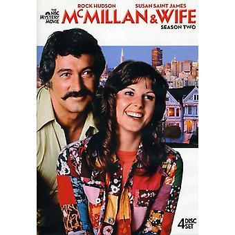 McMillan & Wife: Season Two [DVD] USA import