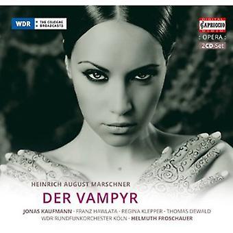 Marschner - Marschner: Der Vampyr [CD] USA import