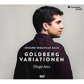 Diego Ares - Bach: Goldberg Variations Bwv988 [CD] USA import