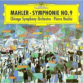Boulez/Chicago Symphony Orch. - Mahler: Symphony No. 9 [CD] USA import