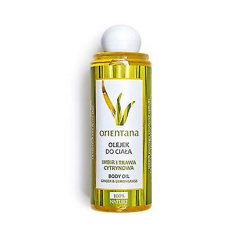 Body Oil Ginger & Lemongrass, 210 Ml