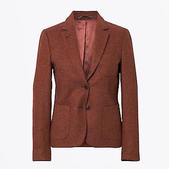 Gant - Wool Twill Blazer - Rust