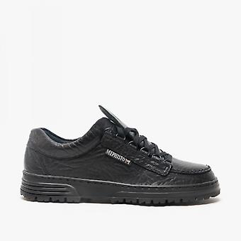 Mephisto Cruiser Mamouth Mens Leather Shoes Black