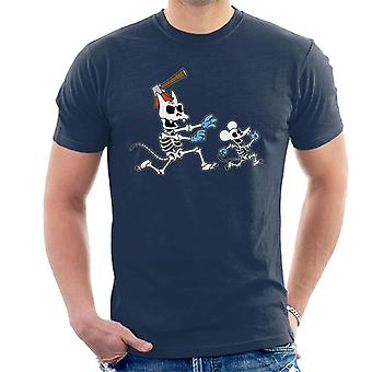 The Simpsons Itchy & Scratchy Halloween Men's T-Shirt