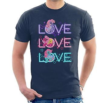 My Little Pony Neon Love Love Love Men's Camiseta