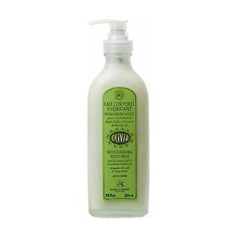 Organic Green Tangerine Body Lotion OLIVIA pump 230 ml of cream