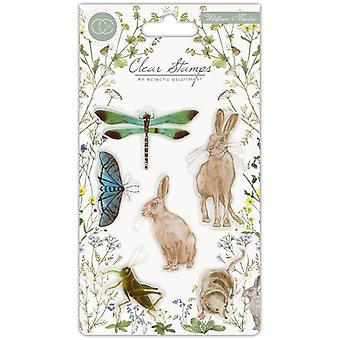 Craft Consortium Clear Stamps - Wildflower Meadow