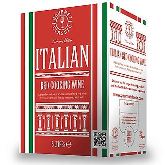 Gourmet Classic Italian Red Cooking Wine