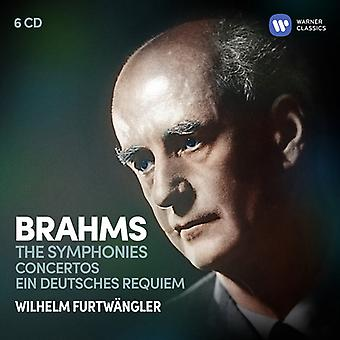 Furtwangler*Wilhelm - Brahms: The Symphonies Ein Deutsches Requiem [CD] USA import