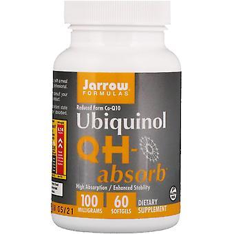 Jarrow Formules, Ubiquinol, QH-Absorb, 100 mg, 60 Softgels