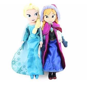 Frozen Princess Anna & Elsa Peluche - Cute Dolls Soft Pillows For Baby, Compleanno