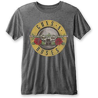 Charcoal Guns N' Roses Classic Logo Official Tee T-Shirt Unisex