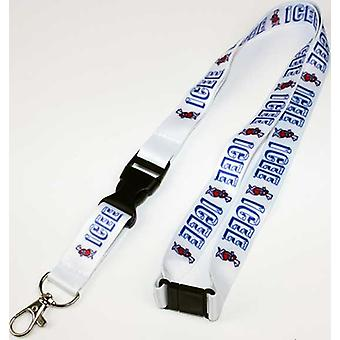 Lanyard - Icee - Icee Repeat Print White New LY03206ICEU