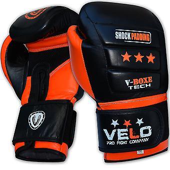 VELO Gel Leather Boxing Gloves PR8