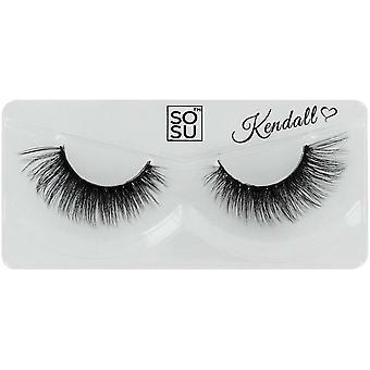 SOSU Luxury 3D Effect False Eyelashes - Kendall - Instant Length & Volume