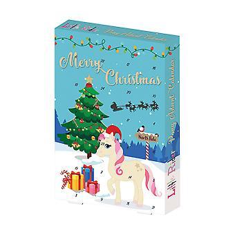 Little Rider Pony Advent Calendar (Pack Of 6)