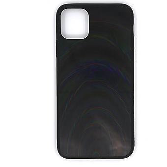 Mobile Hülle für iPhone 11 Pro Max - holographisch, schwarz