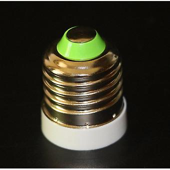 1pcs High Quality Fireproof Material Lamp Base E27 To E17 Adapter