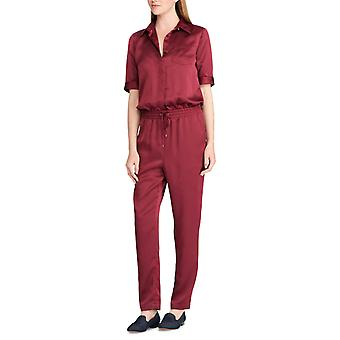 Lauren by Ralph Lauren | Varis Satin Short Sleeves Jumpsuit