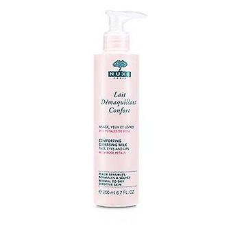 Comforting Cleansing Milk With Rose Petals (Normal To Dry, Sensitive Skin) 200ml or 6.7oz