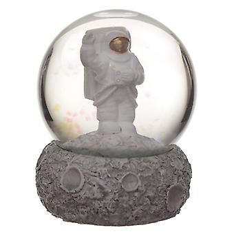 Collectable Moon and Space Man Snow Globe Waterball X 1 Pack