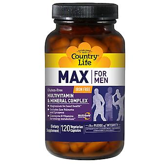 Country Life Max For Men Maxi-Sorb, 120 Vcaps