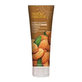 Desert Essence Sweet Almond Body Wash, 8 Oz