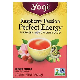 Yogi Raspberry Passion Perfect Energy, 16 bags, 1.27 oz (32 g)