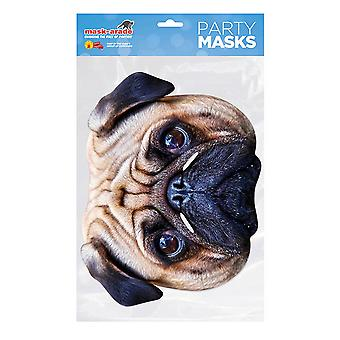 Mask-arade Pug Dog Party Face Mask