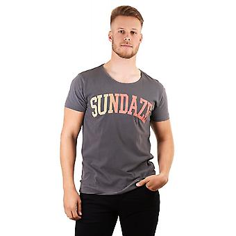 Scotch & Soda Mens Ss T Shirt Sundaze Print