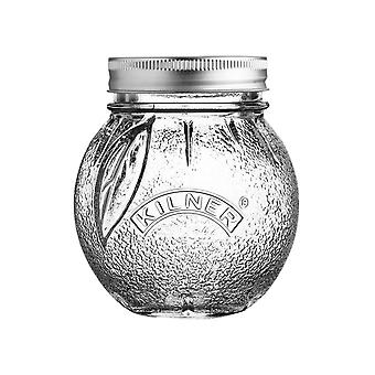 Kilner Fruit Preserve Jar Orange 0.4L 0025.581