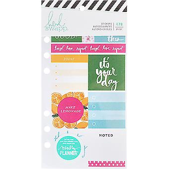 Heidi Swapp Memory Planner Cardstock Stickers-Fresh Start, Playful