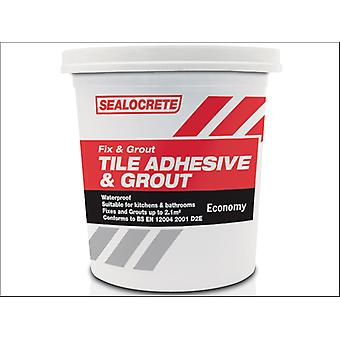 Sealocrete Fix and Grout Tile Adhesive and Grout Standard