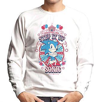 Sonic The Hedgehog Näin rullaan Step It Up Sonic Men's Collegepaita
