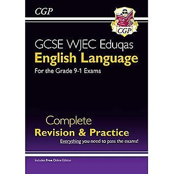 Ny grade 9-1 GCSE engelsk sprog WJEC Eduqas Komplet Revision & Practice (med Online Edition)