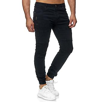 Jogger pour hommes pantalons Chino Biker sueur pantalons détruits Casual pantalon usagés