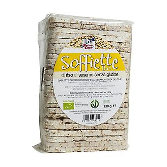 Organic unsalted rice soffiette 130 g