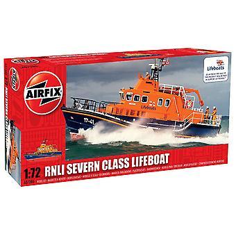 Airfix A07280 RNLI Severn trieda Lifeboat 1:72 mierka spustenie Series 7 model kit