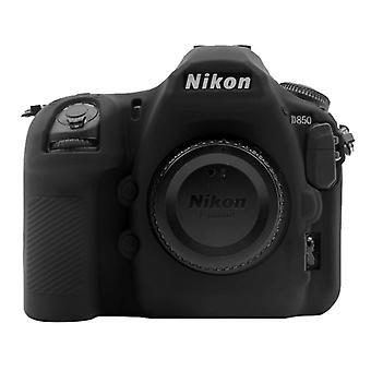 Puluz Miękki silikonowy futerał ochronny do Nikon D850 (czarny)