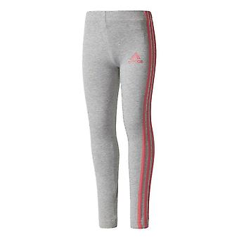 Adidas Girls 3 Stripe Leggings CE9843