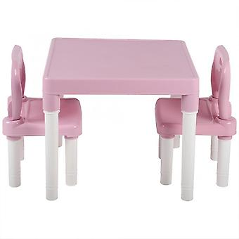 Plastic Table & Chair Set