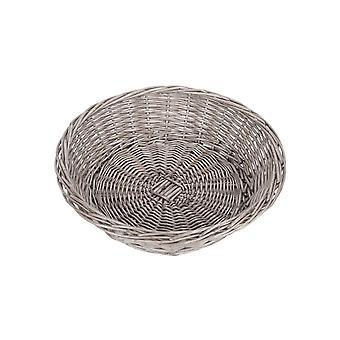 Antik Tvätt Round Wicker Packningsbricka