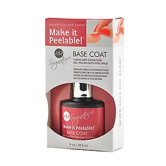 Asp Signature Gel Polonais Make It Peel-able Base Coat
