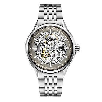 Roamer 101663 41 55 10N Competence Skeleton III Steel Bracelet Wristwatch