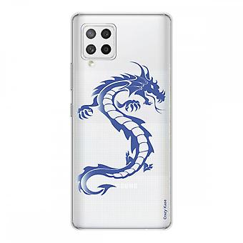Scafo per Samsung Galaxy A42 5g Silicone Soft 1 Mm, Blue Dragon