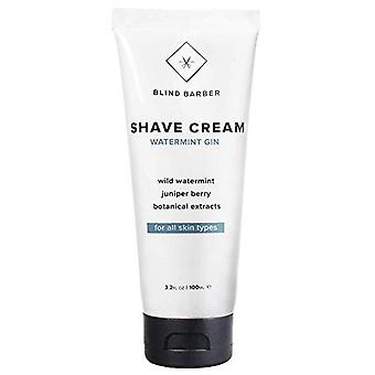 Blind Barber Wild Watermint Shave Cream: Luxury Shaving Cream Protective for All Skin Types (100ml)