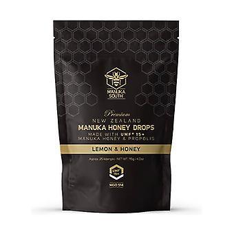 Manuka Honey MGO 514+ Propolis and Lemon Candies 115 g