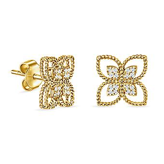 Earrings Felicity 18K Gold and Diamonds